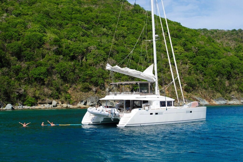 caribbean, catamaran, grenadines